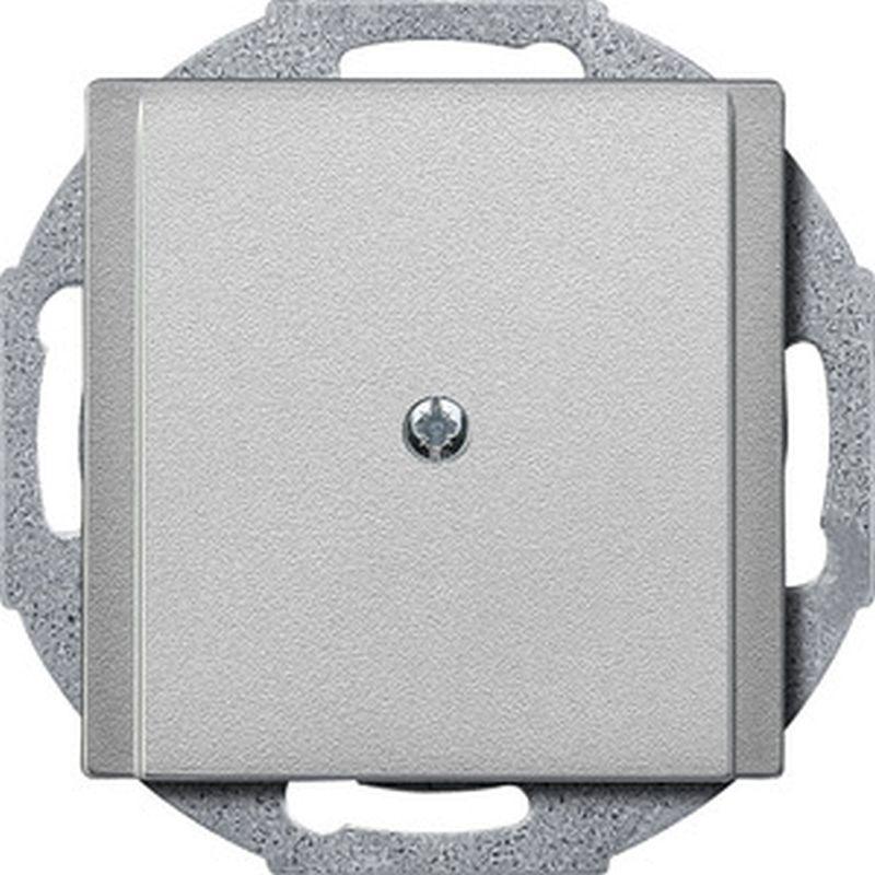 merten system m abdeckung leitungsauslass aluminium 295660 easyelektro. Black Bedroom Furniture Sets. Home Design Ideas
