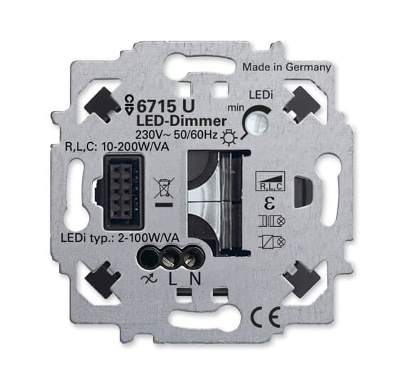 b j led dimmer einsatz zigbee light link fernsteuerung zigbee light link unterputz einsaetze. Black Bedroom Furniture Sets. Home Design Ideas