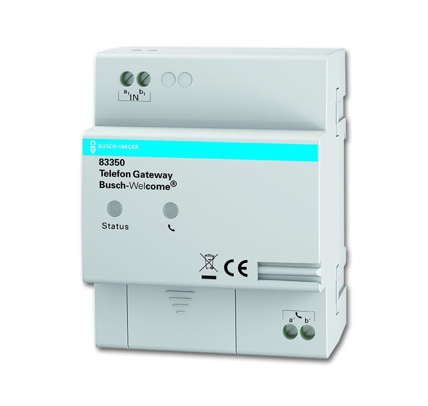 b j telefon gateway tuerkommunikation systemgeraete 83350 easyelektro. Black Bedroom Furniture Sets. Home Design Ideas
